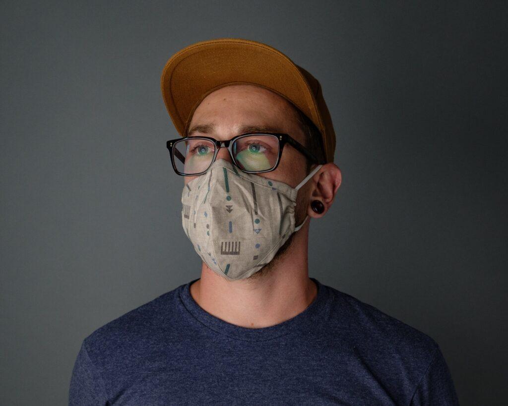 Maske Brille Beschlagen