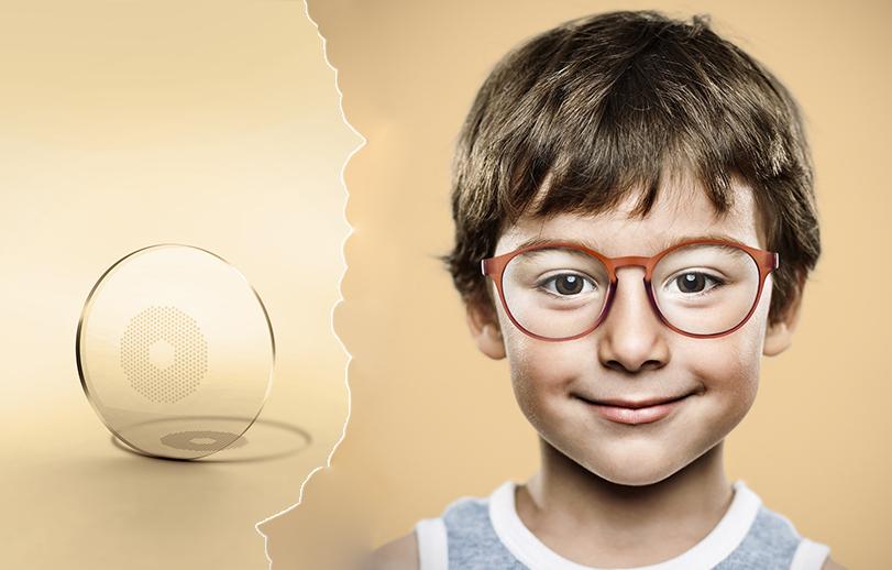 Innovatives Brillenglas bremst Kurzsichtigkeit