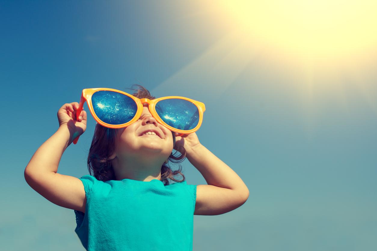Sonne – eine Gefahr für Kinderaugen